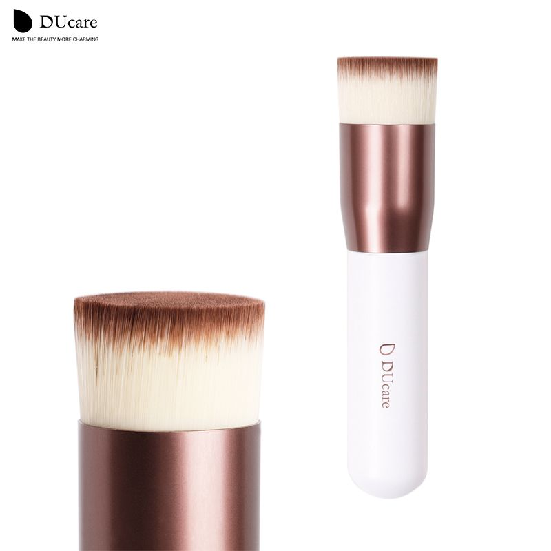 DUcare maquillage pinceau Kabuki Brosse Plat Fondation Maquillage brosses top qualité fondation brosses super sympa