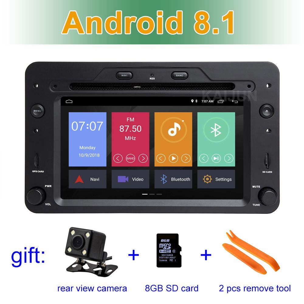 Android 8.1 Auto dvd-Stereo-player für Alfa Romeo Spider Alfa Romeo 159 Brera 159 Sportwagon mit Radio GPS WIFI BT