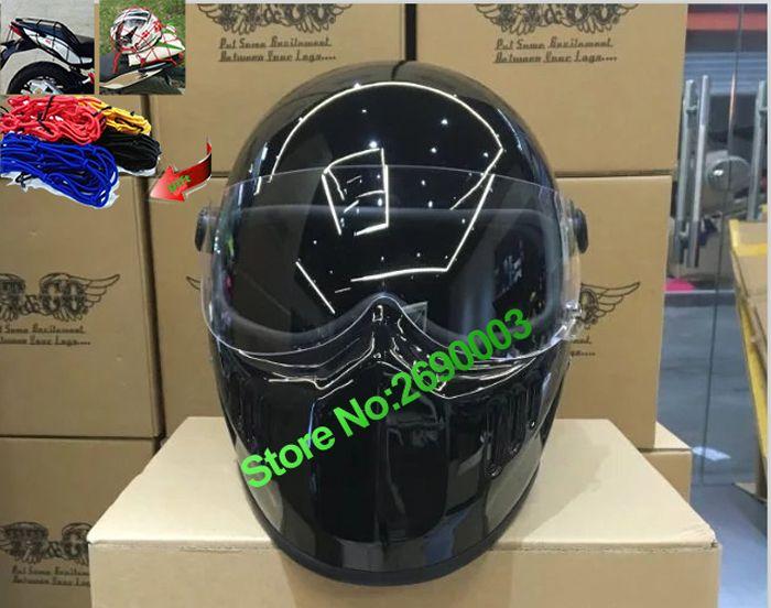 Heißer Verkauf Motorrad Helm Neue importiert authentische Japanische TT & CO Thompson retro Harley Motorrad personifizierte helm