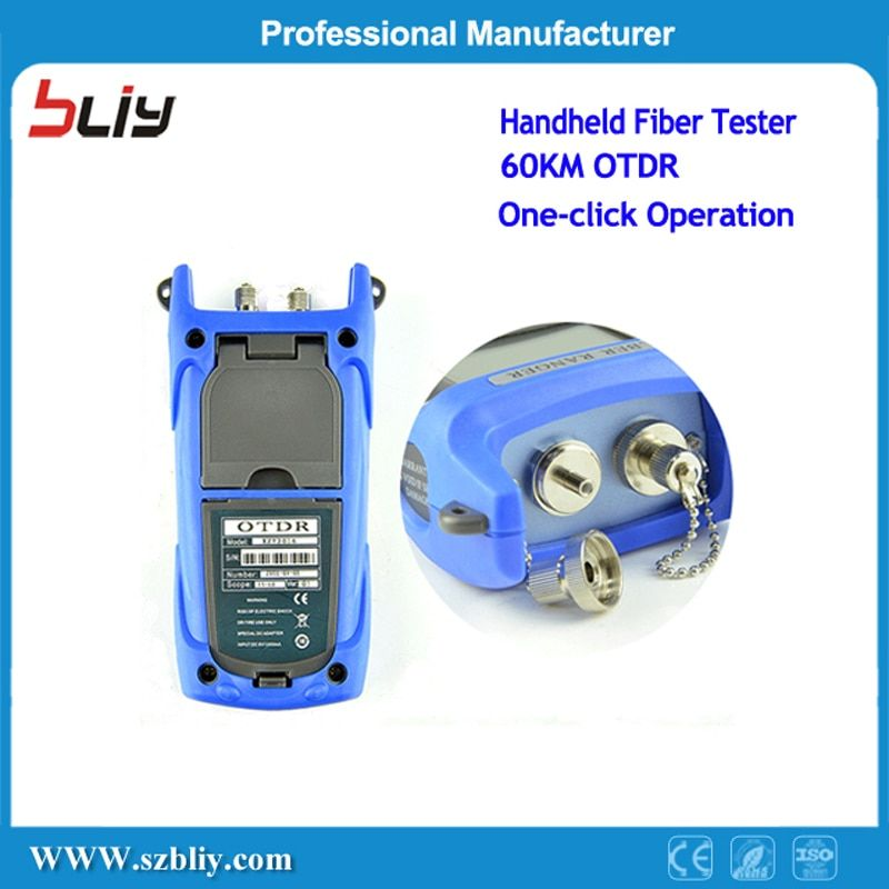 Free Shipping 60km Fiber Tester Otdr Machine Manufacturers FTTX SM MM 1310/1550nm Brands Fiber Optical Test Pon Mini Otdr Price