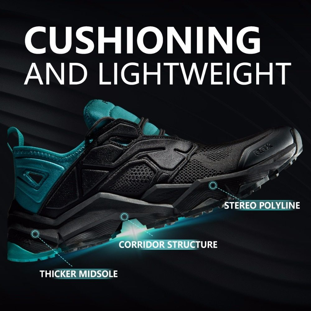 RAX chaussures de randonnée d'été hommes respirant baskets de plein air antidérapant Trail chaussures de montagne femmes chaussures de sport chaussures d'escalade durables