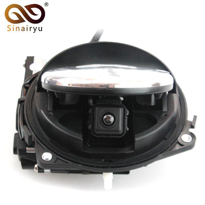 Auto Smart Flip Koffergriff Rückfahrkamera Rückunterstützungs Fahrzeug kamera Für VW CC Golf 6 Passat B7 Magotan DVD Monitor