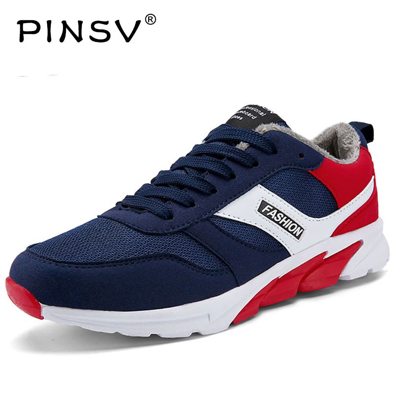 PINSV Sneakers Men Shoes Krasovki Men Running Shoes For Men Brand Shoes Running Shoes Sports Scarpe Sportive Da Uomo Di Marcaa