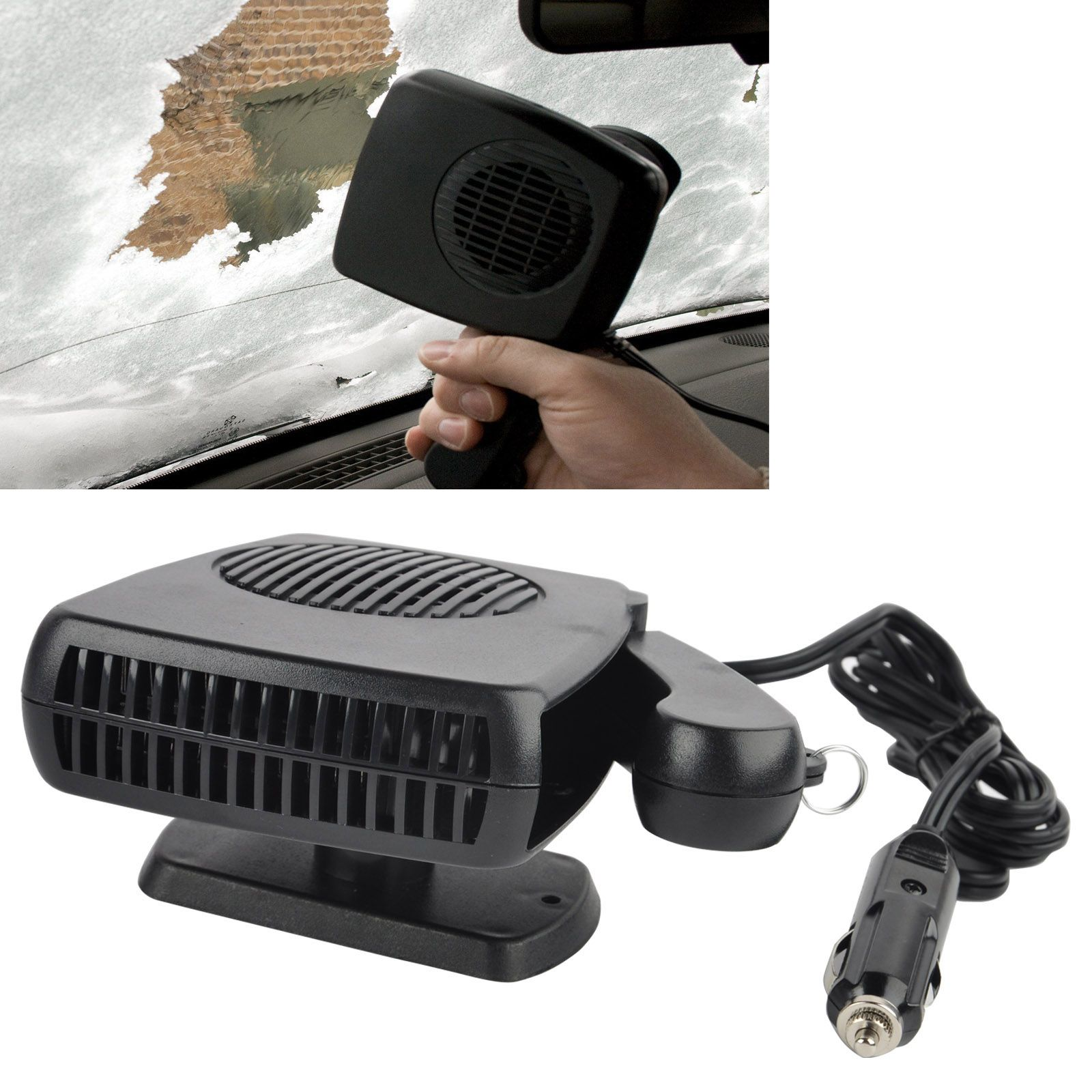 Portable 12V 150W Car Vehicle Heater Car Electric Heater Warm Air-Conditioned Glass Defogging Defrost