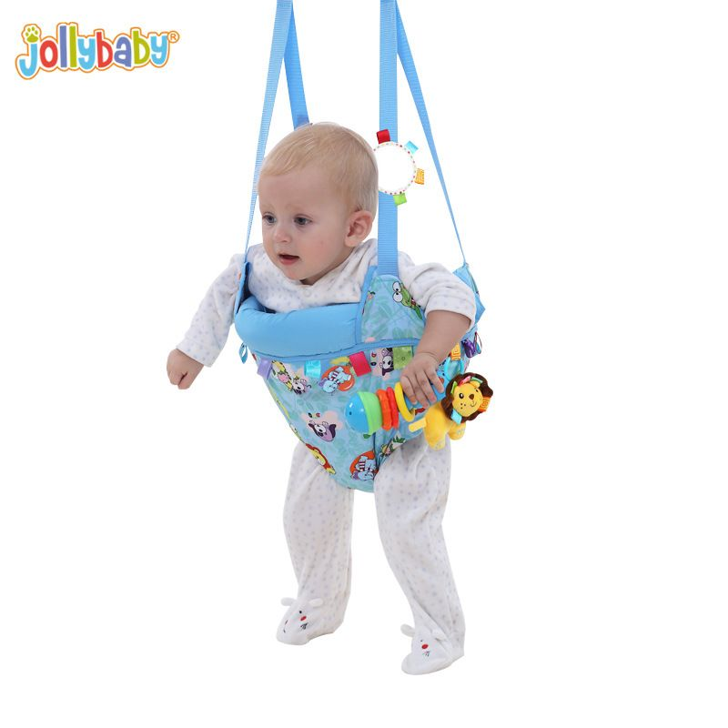 Jollybaby Toddler Toy Fitness Swing Jumping Dual-purpose Park Bebek Chairs Rocking Cradle Baby Jumpers And Bouncers YYT501