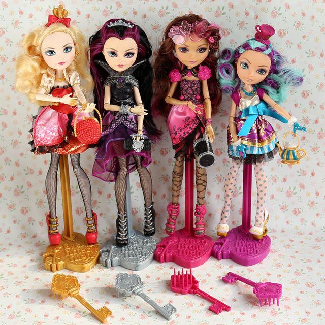 Poupées princesse, jouets filles, cadeaux d'anniversaire 12 poupées articulées