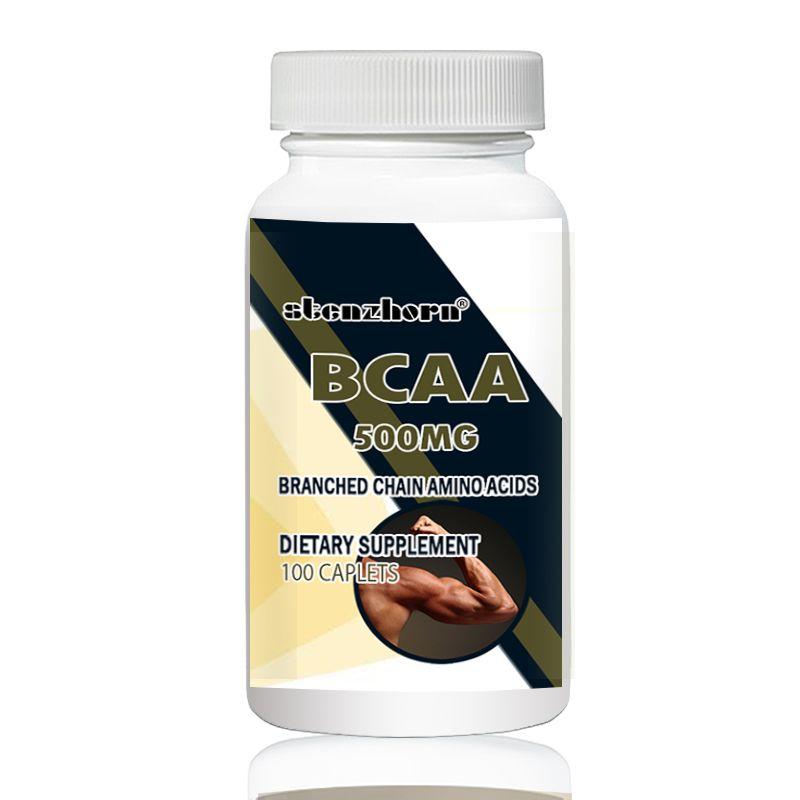 BCAA 500 mg 100 stücke L-Leucin L-Isoleucin L-Valin mit vielseitig unterstützung für training ausdauer und recovery