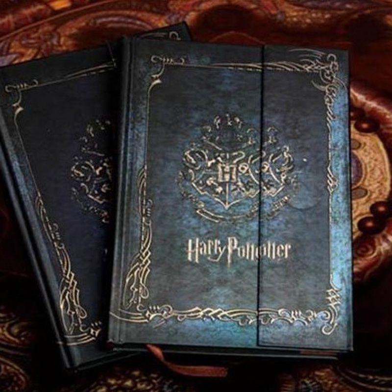 Carnet de notes Vintage Harry Potter avec calendrier 2017-2018-2019 rétro couverture rigide Agenda Agenda planificateur livre cadeau