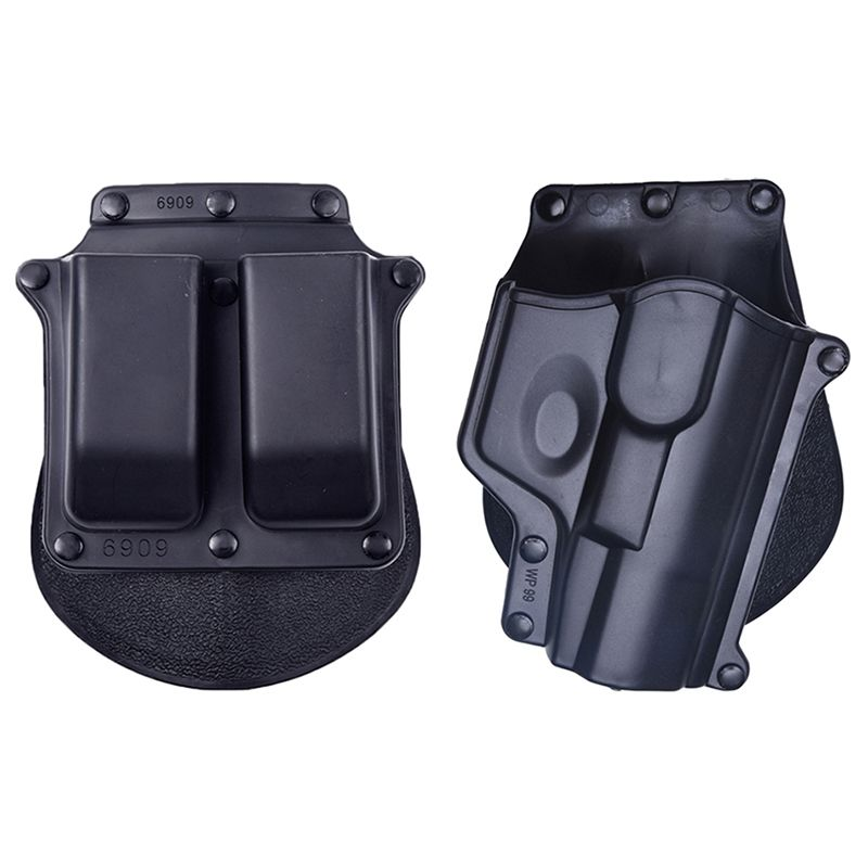 Hunting army military pistol Compact Tactical Holster With 6909 Mags For Walther WP99 airsoft