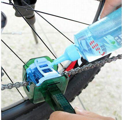 Vélo vtt vélo chaîne de vélo nettoyant Multi outil ensemble volant volant propre Kit de lavage Cassette rapide nettoyer outils brosses boîte à récurer