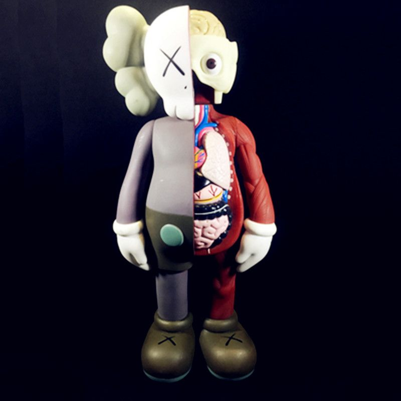OriginalFake Baseman Toby KAWS Brian Dissected Companion BFF Street Art PVC Action Figure Collection Model Toy S161