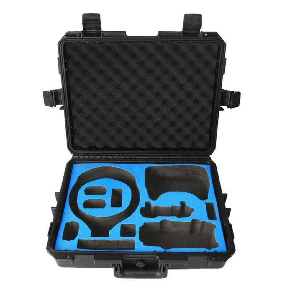 Reise Sicherheit Transport RC Drone Hardshell Koffer Für DJI VR Flug Gläser + Mavic Pro Oder Funken Lagerung Box Wasserdicht fall