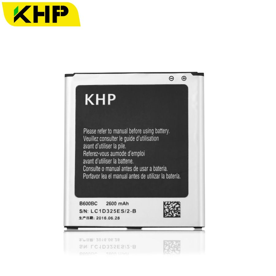 100% Original KHP S4 Battery For Samsung Galaxy S4 IV I9500 I9502 I9505 I9508 NFC Built-in AAA Replacement Mobile Batteries