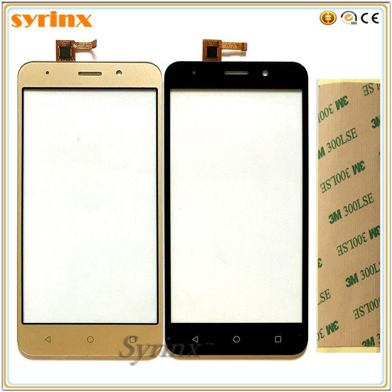 Syrinx Free 3m Tape Moible Phone Touch Screen Digitizer For Vertex impress luck Front Panel Glass Lens Sensor Touchscreen