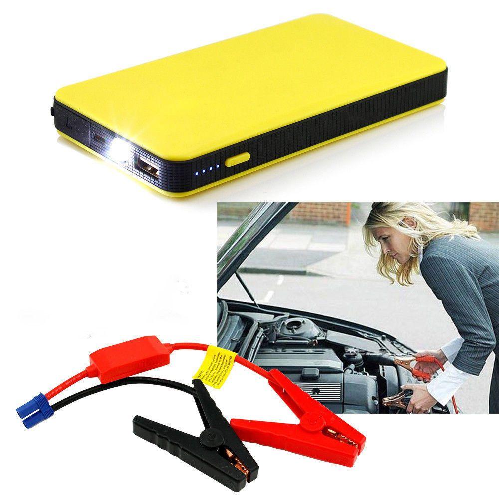Voiture saut démarreur batterie externe 12 V 8000 mAh Mini Portable batterie externe Auto Jumper moteur batterie voiture accessoires de secours