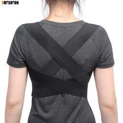 Posture Corrector Back Brace Support Spine Back Corset Belt Shoulder Therapy Support Poor Posture Correction Belt For Men Women