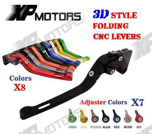 CNC 3D Style Folding Adjustable Brake Clutch Lever For Yamaha XJR400 1993-2007 FZ400 1997 FZS600 Fazer 1998-2003 FZS 600 NEW