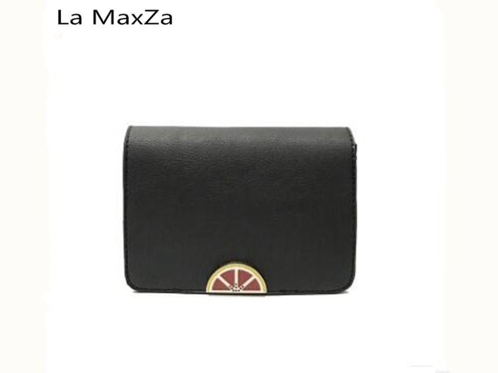 La MaxZa 2018 new female fashion Messenger bag female wild chain small bag atmosphere shoulder bag