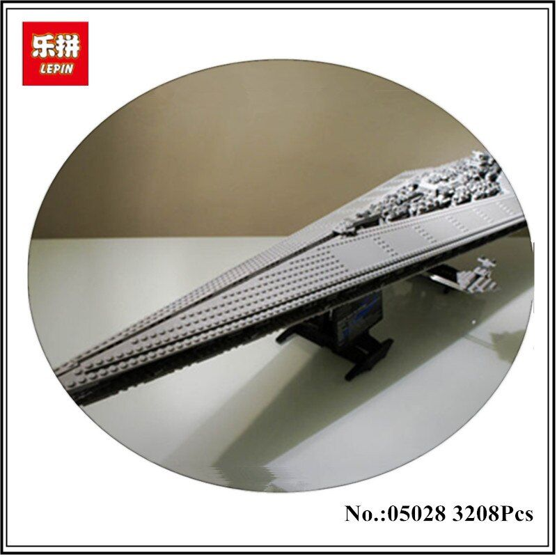 IN STOCK LEPIN 05028 3208PCS Execytor Super Star Destroyer Model Building Wars Kit Block Brick Toy Gift Compatible 10221