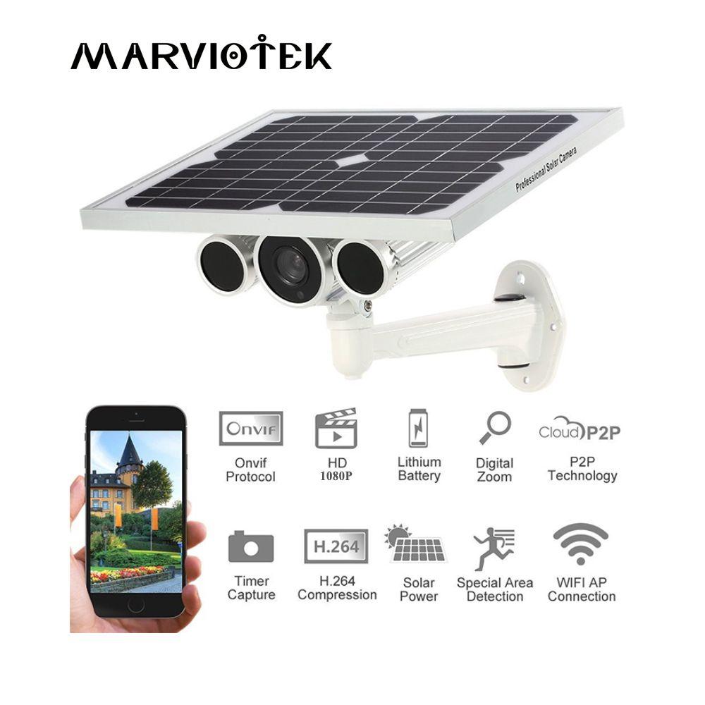 4G LTE drahtlose Ip-kamera im freien 3G gsm cctv-kamera videoüberwachung ip-kamera 1080 P solar power kameras sim-karte slot