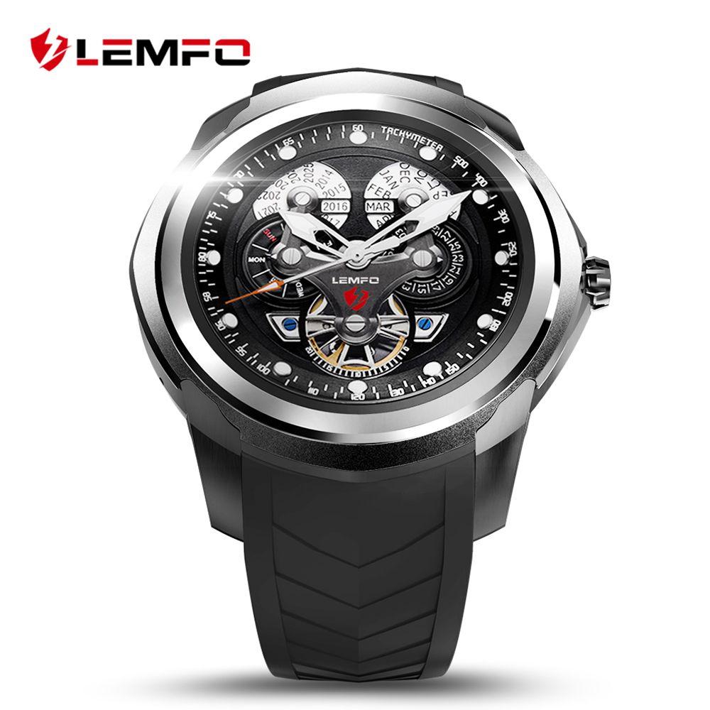 LEMFO LF17 Smart Montre Téléphone 512 MB + 4 GB avec SIM/TF Fente Pour Carte Android 5.1 Bluetooth Poignet Smartwatch Hommes montre-bracelet