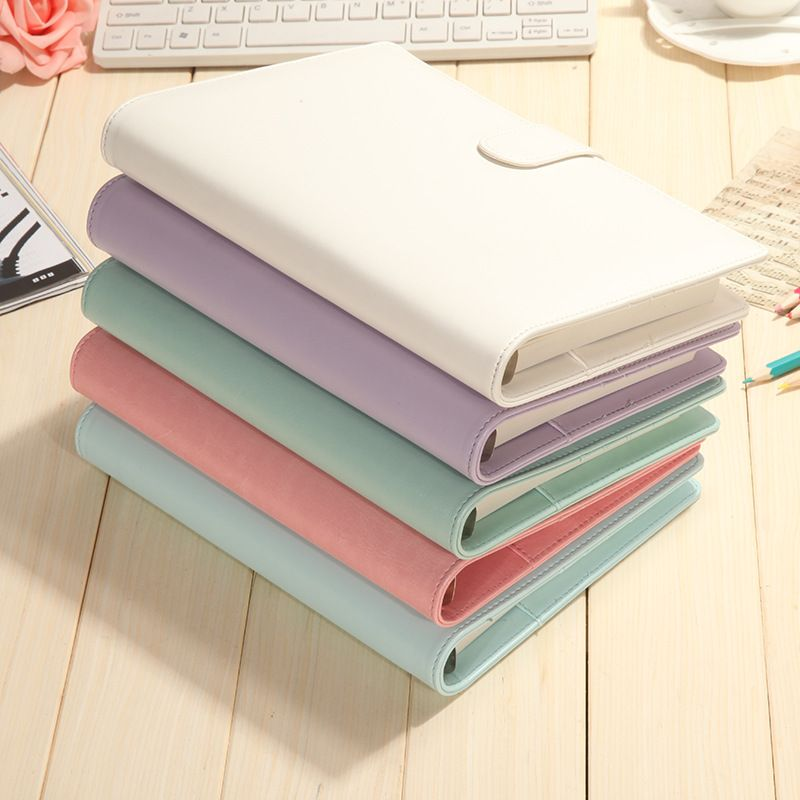 New Macaron Style Spot Color Sketchbook Bullet journal Cute Notebook paper Weekly Planner Accessories Stationery Diary 01606