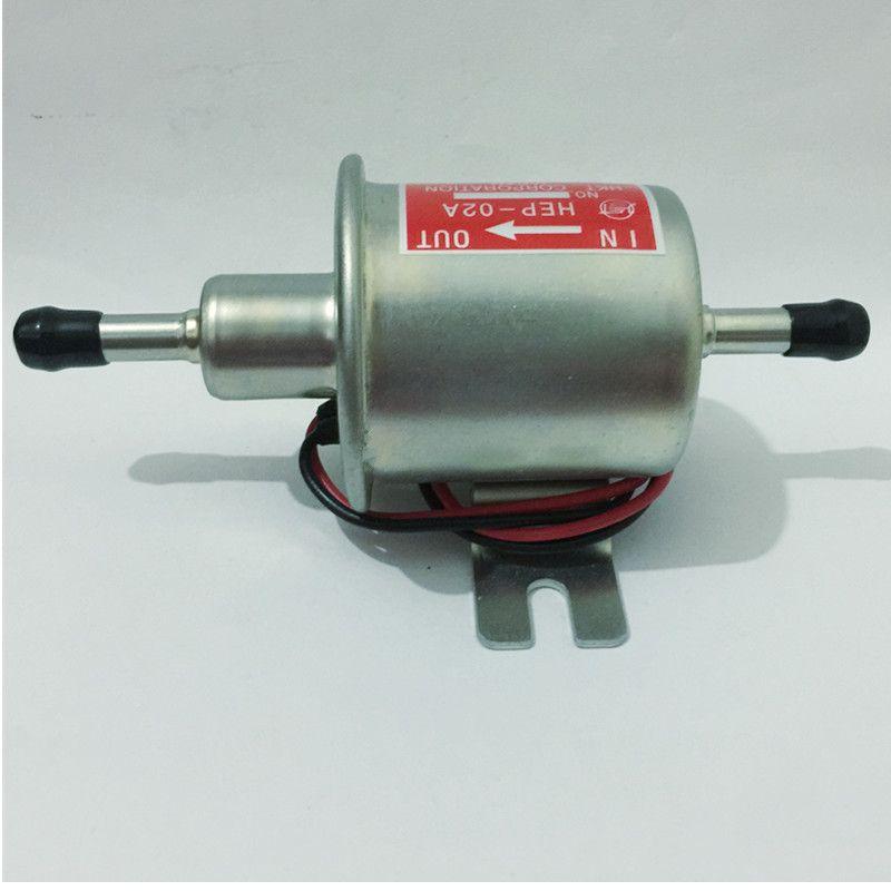 Бесплатная доставка Дизель бензин 12 В Электрический топливный насос HEP-02A низкого давления Топливный насос для карбюратор, мотоцикл, ATV