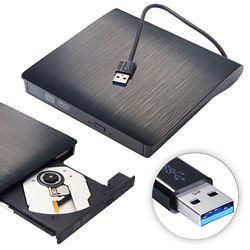 USB 3.0 Externe Portable CD-RW DVD-RW CD DVD ROM Lecteur Lecteur Écrivain Graveur Graveur pour iMac/MacBook Air/Pro Ordinateur Portable PC De Bureau