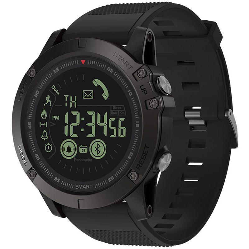 Zeblaze VIBE 3 Smart Watch Luminous Dial Low Battery Remind Moments Share Wristband IP67 ( 50M ) Waterproof Long Standby Time