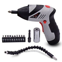 4.8V Cordless Mini Electric Screwdriver Household Rechargeable Screwdriver With Precision Magnetic Screwdriver Bit Power Tools