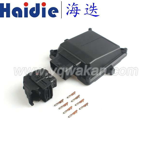 Free shipping 1set 48pin ECU Plastic Enclosure Box with Case Motor Car LPG CNG Conversion Kits Controller Auto Connector