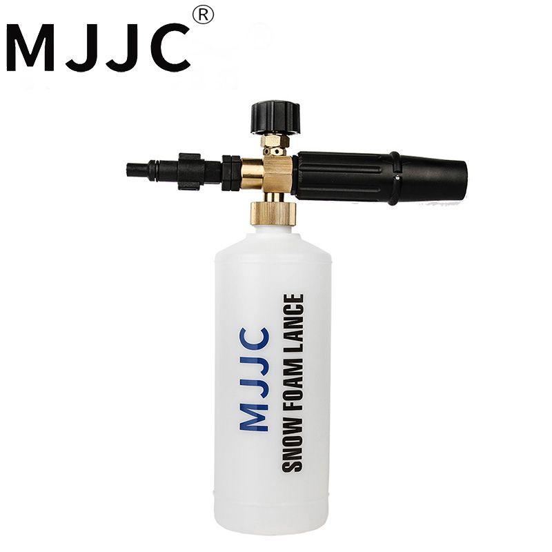MJJC Brand Snow Foam Lance for Lavor Parkside Foreman Sterwins Hitachi Sorokin Copokin Hammer Elitech Champion Foam Cannon