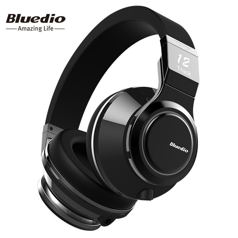 Bluedio Victory High-End Wireless Bluetooth headphones PPS12 drivers over ear BT 4.1 headset with microphone rotated design
