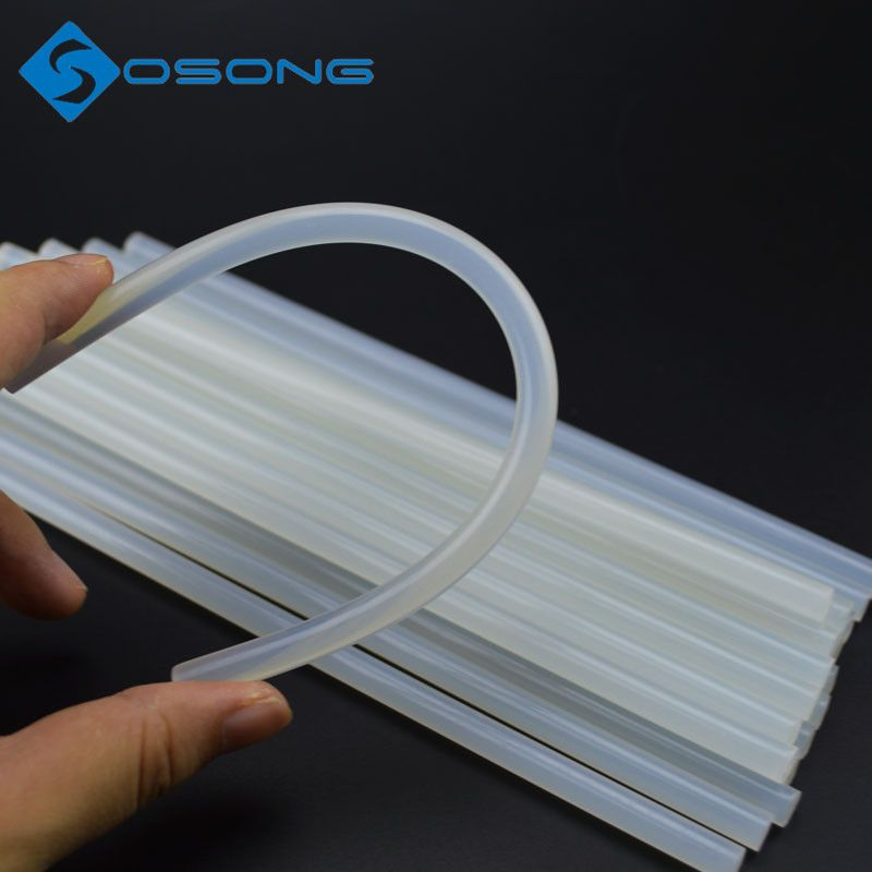 2016 Hot Sale 25pcs/lot 7mmx200mm Clear Hot Glue Sticks 7MM for Hot Melt Gun Car Audio Craft Transparent for Alloy Accessories