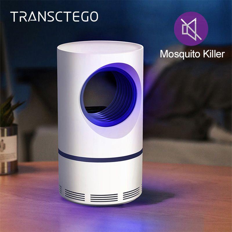 Lampe anti-moustiques USB puissance insecte tueur Bug Zapper piège à moustiques Flie UV lanterne lumière intérieur LED lampe anti-moustiques