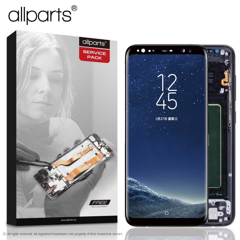 ORIGINAL AMOLED für SAMSUNG S8 LCD Display Touchscreen Digitizer Ersatz für SAMSUNG GALAXY S8 Plus LCD SAMSUNG S8 LCD
