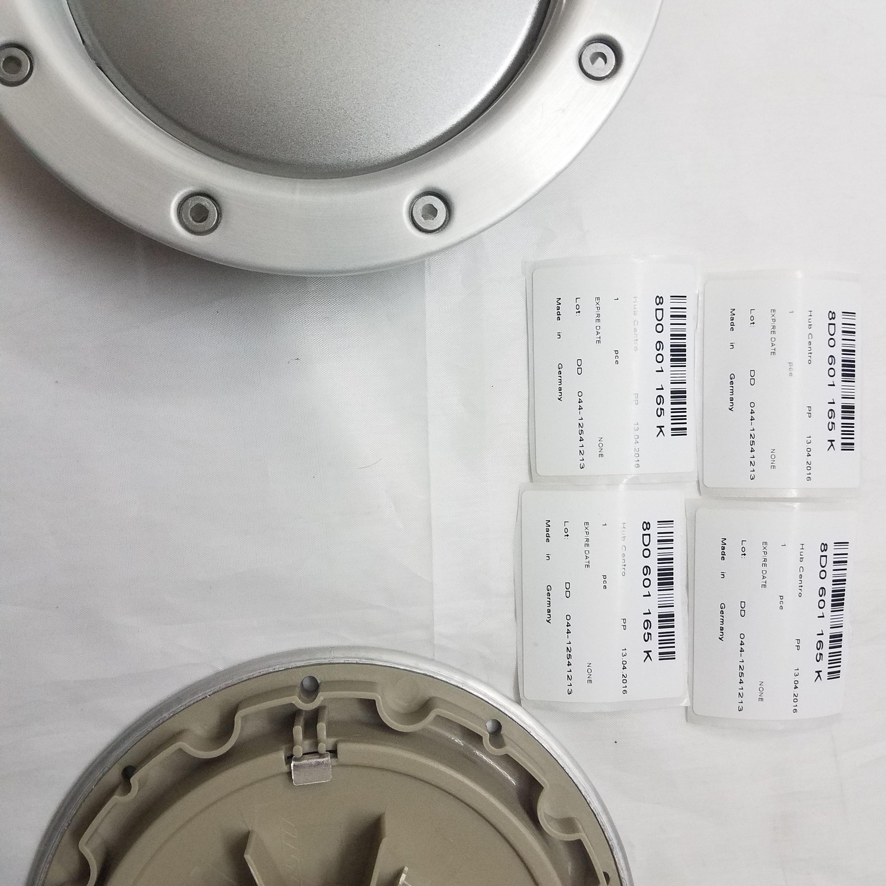 NEW 4pcs WHEEL CENTER CAPS RIM HUB CAP for   146mm 8D0601165K 8D0 601 165 K