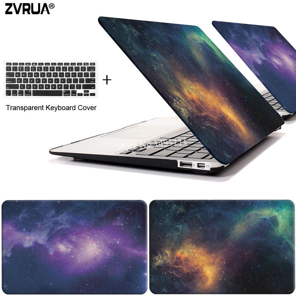 Zvrua Star чехол для ноутбука MacBook Air 11 13 дюймов для Apple Mac Pro с Retina 12 13.3 15 с touch Bar Нью-клавиатура + крышка