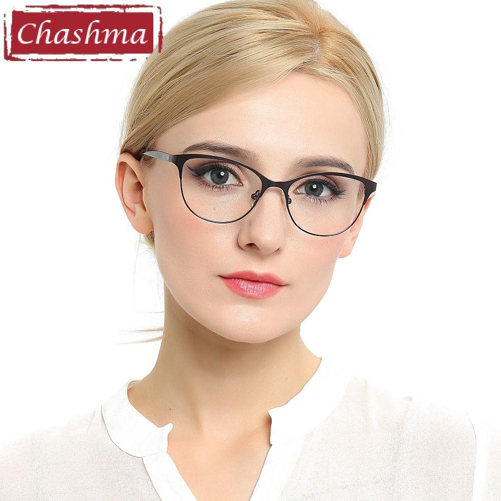 Tchachma 2018 Nouveau Chat Yeux Lunettes De Style Femmes Top Qualité Femmes Lunettes Optiques Montures Lunettes Lunettes De Mode
