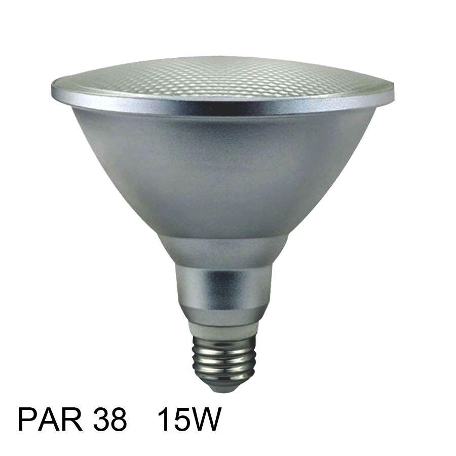 15 w 220 v E27 LED Par38 Ampoules LED Spot E27 étanche Par 38 Lampe LED spotlight lampe ampoule lumières 110 v 220 v 240 v 60 degrés 4000 k