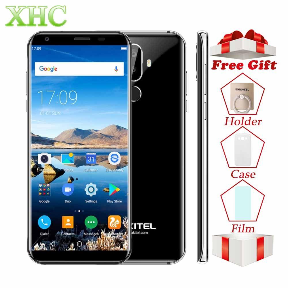 Oukitel K5 18:9 Display 5.7'' Android 7.0 2GB RAM 16GB ROM Smartphone MTK6737T Quad Core 13MP Dual SIM Fingerprint Mobile Phones