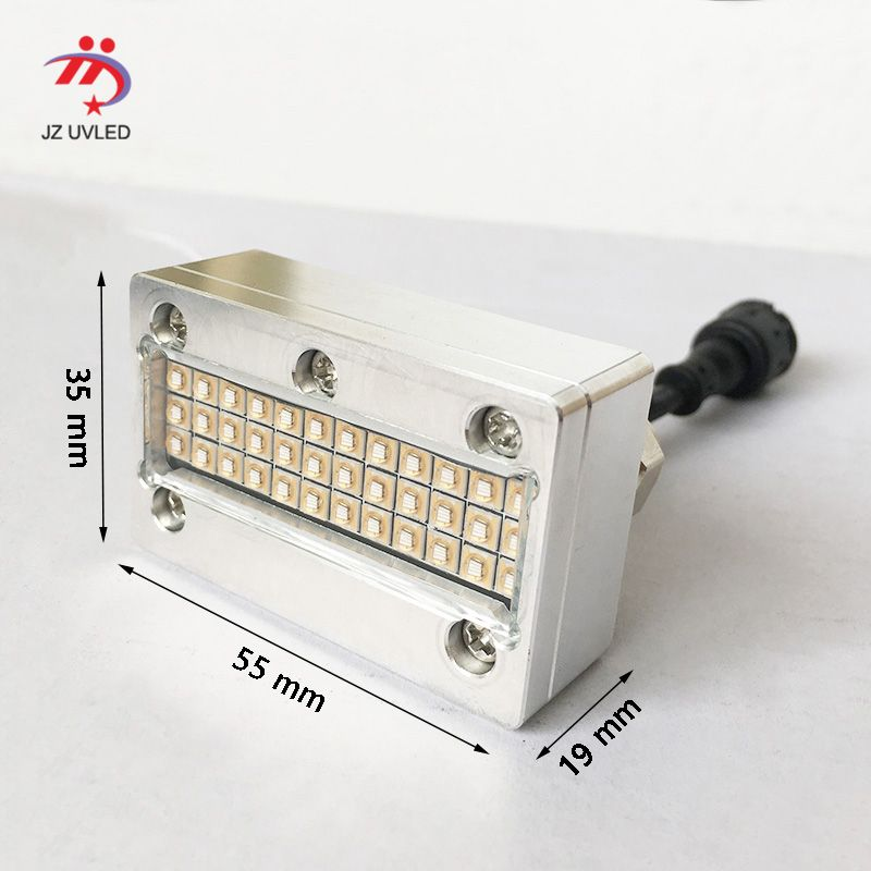 Kleine UV tinte aushärtung lampen für APEX UV4060 flachbettdrucker Sunjet Epson DX5 kopf Inkjet foto drucker heilung 395nm cob UV led licht