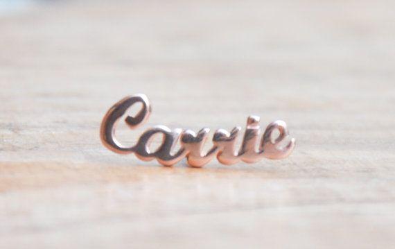 Nom personnalisé boucle d'oreille personnalisé indien Stud mode boucles d'oreilles Unique bijoux oreille manchette personnalisé mode bijoux à bricoler soi-même pour Womon
