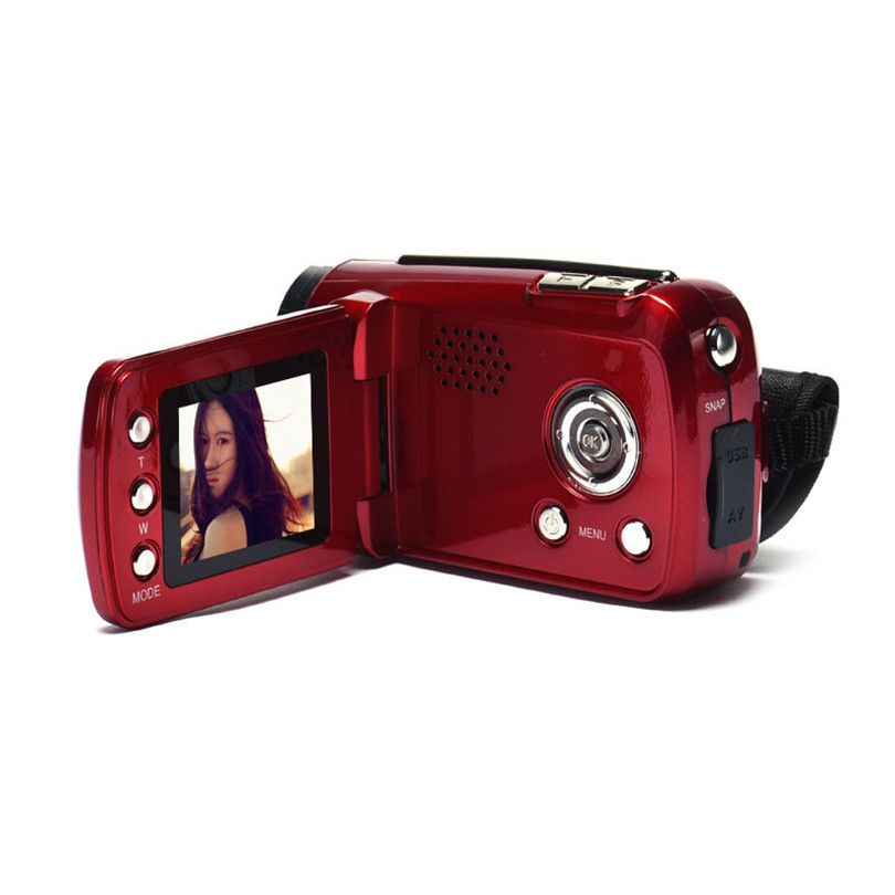 Fashion 1.8 Inch TFT LCD Cameras 2017 Hot Selling 4X Digital Zoom Mini Video Camera Oct16