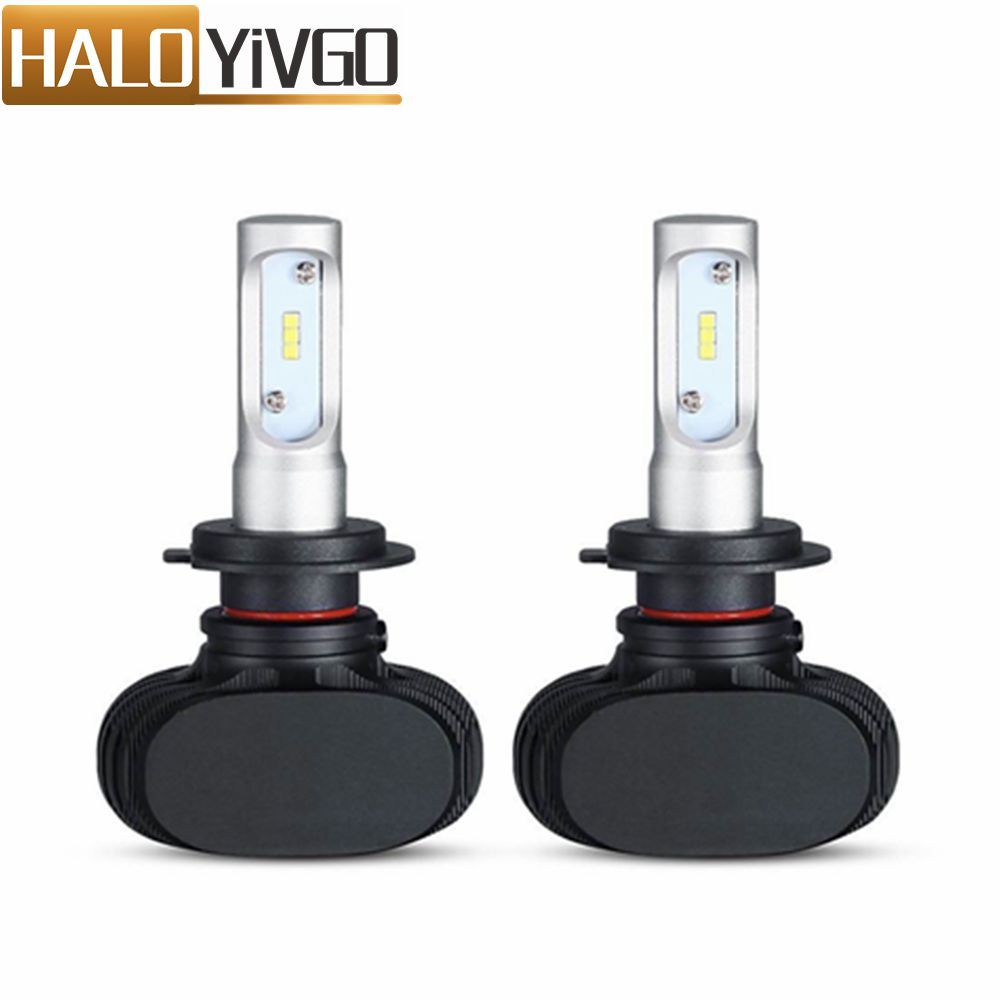 H7 H11 H4 H13 LED Car Headlight Bulbs Hi/Lo Beam CSP 6500K 50W 8000Lm Car LED Headlights Bulbs Fog Light Auto Head Lamp 12V