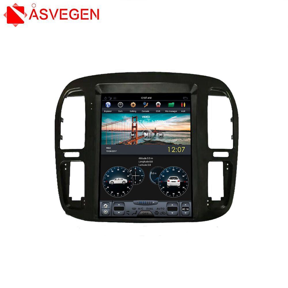 Android Auto GPS-Navigation Für TOYOTA LAND CRUISER 1999-2002 12,1 Zoll Auto Multimedia Stereo Video Player Steuergerät Player
