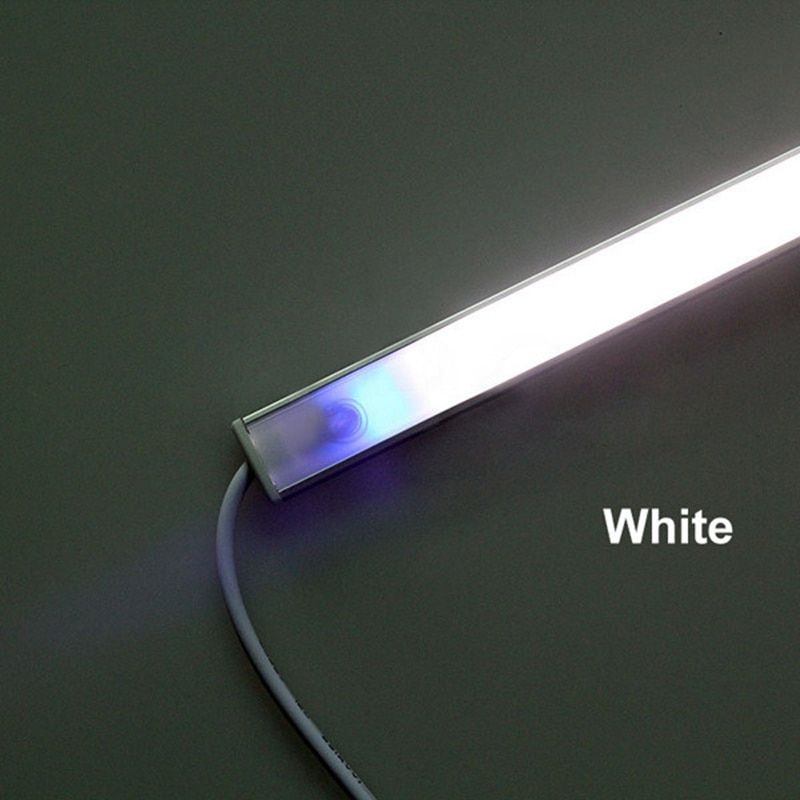 Regulable 21 LLEVÓ 6 W Regulable Sensor Táctil USB LLEVÓ la Barra luz Para Armario Mesita de noche Dormitorio Luz Puro Blanco Cálido DC5V