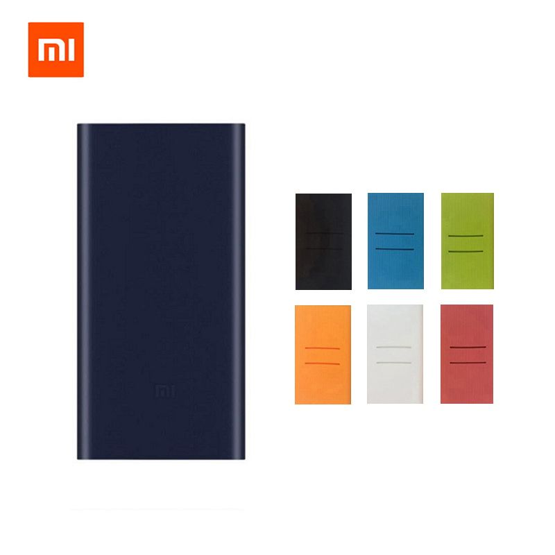 2018 New Xiaomi Mi Power Bank 2 10000 mAh Dual USB Output Support 18W Fast Charge 10000mAh Powerbank External Battery Pack