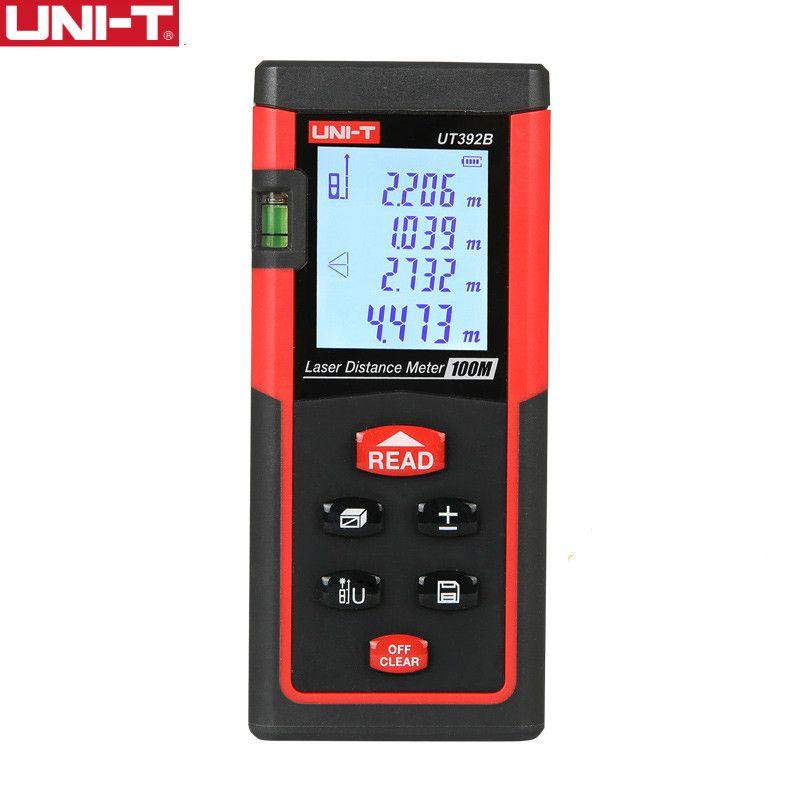 UNI-T UT392B Laser Distance <font><b>Meters</b></font> 100 m Range Area Volume Add Subtract Continuous Measurement Rangefinder