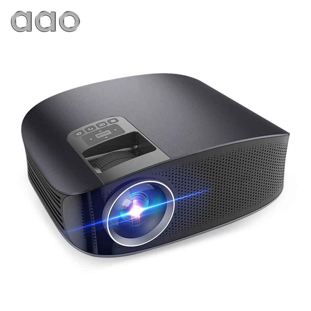 AAO YG500 Update YG600 Projector Full HD 1080P 3600 Lumens Multimedia Proyector LED 3D TV HD Projector Video Beamer Home Theater